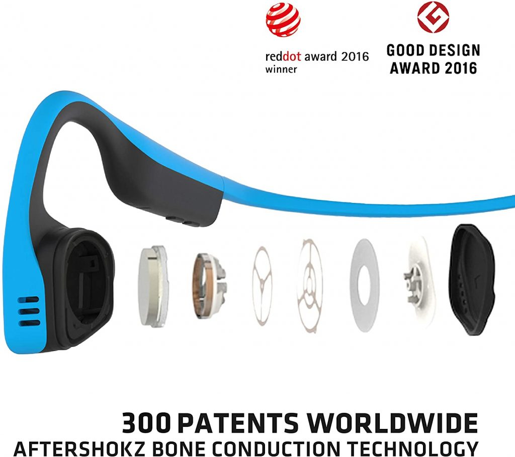 AfterShokz Trekz Titanium Bone Conduction Headphones Sound Quality