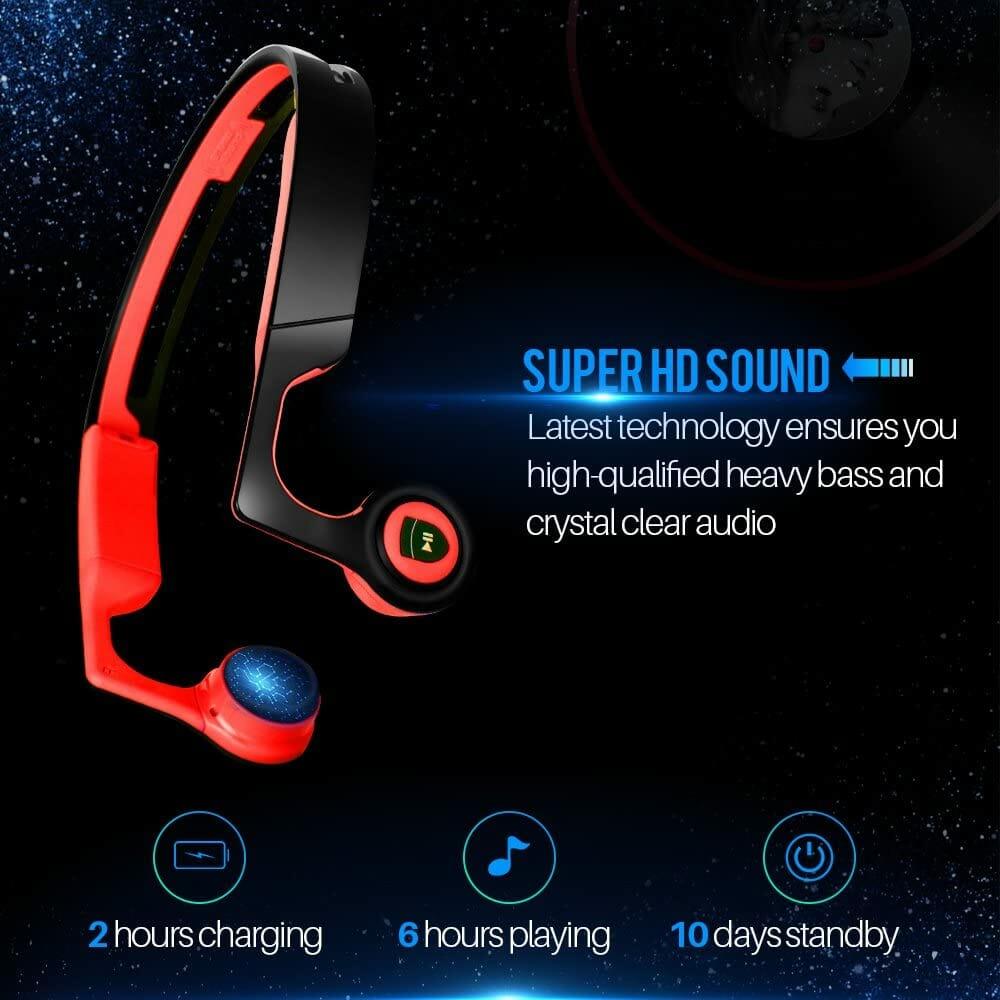Juhall V4.2 Bluetooth Bone Conduction Headphones Sound Quality