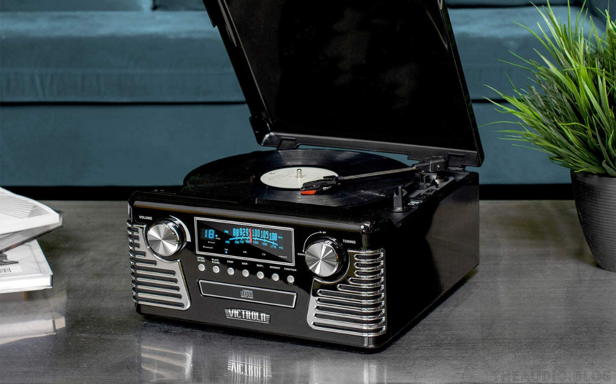 The Best All In One Stereo Systems With a Turntable