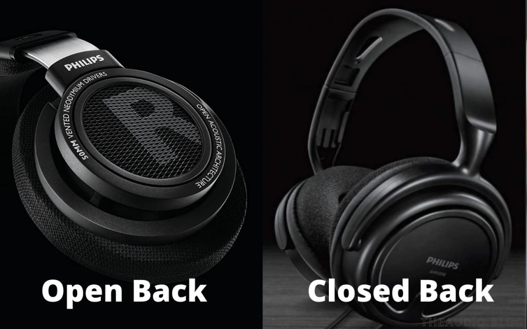 Open Back vs Closed Back Headphones